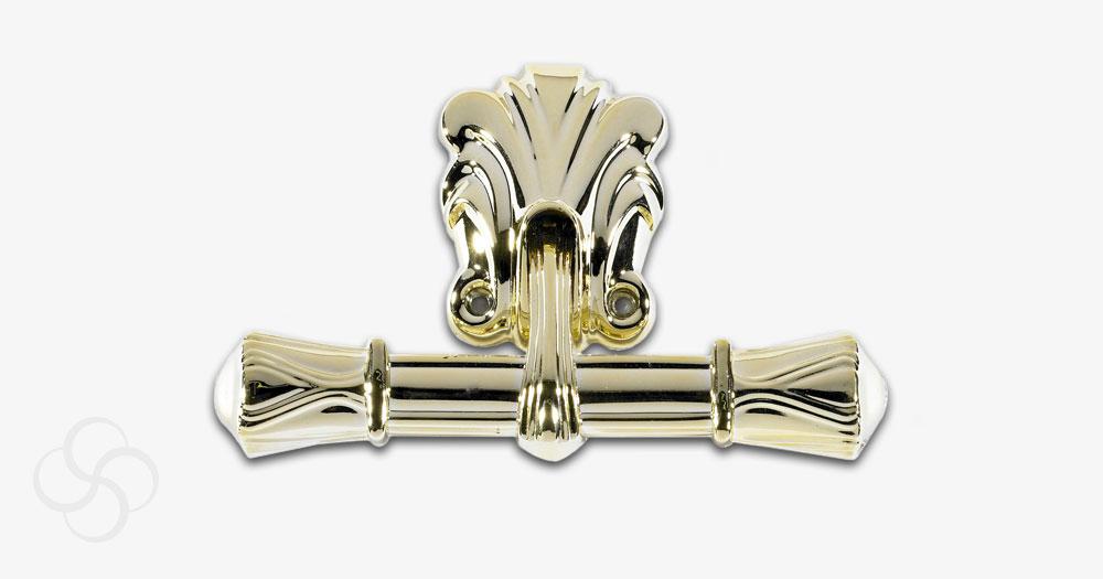 A golden handle design for coffins