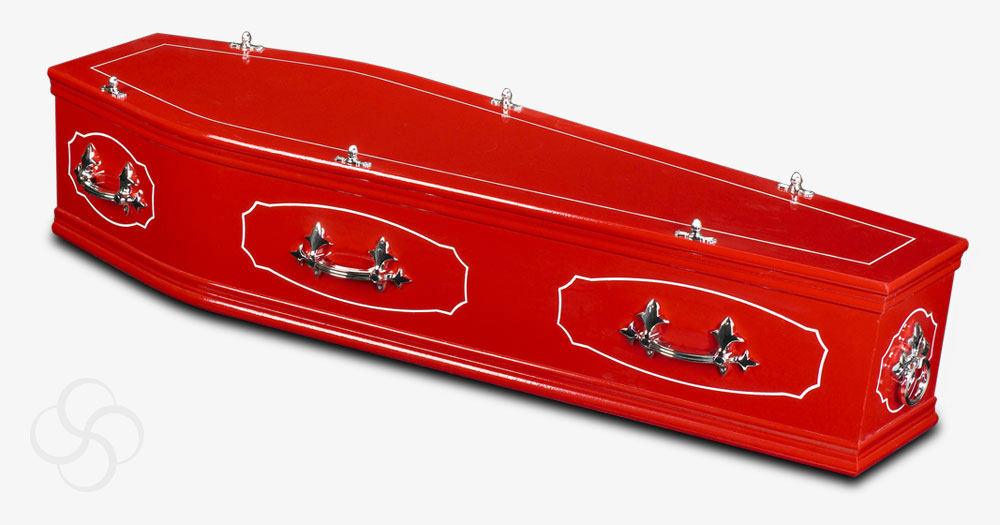 The red coffin from our studio range
