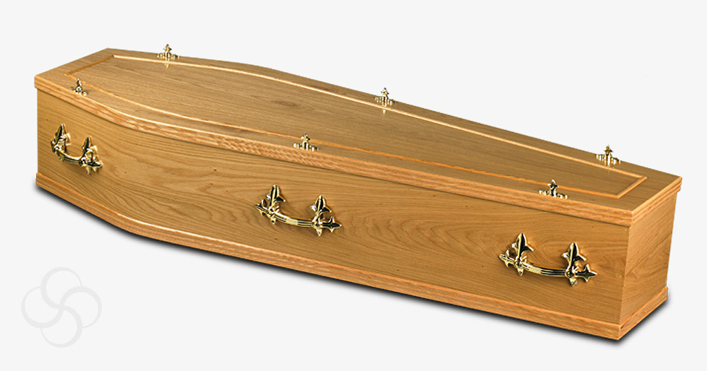 A Southwell coffin which is a part of our budget range